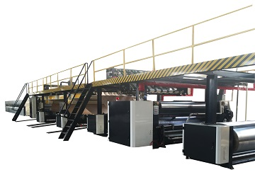 Economic type corrugated production line
